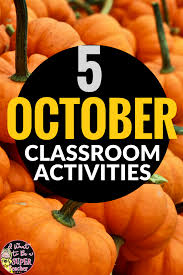 october ideas u0026 activities for the elementary classroom