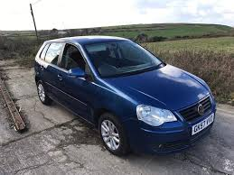 volkswagen polo s 1 4 tdi 70 blue 5dr 2007 in newquay cornwall