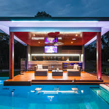 Covered Outdoor Kitchen Designs by Covered Outdoor Kitchens With Pool Home Designs Kaajmaaja