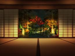 japanese wall decor japanese ancient female art wall decal
