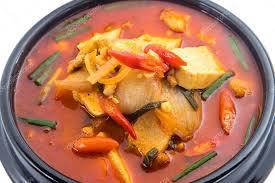 koreanische küche eintopf kimchi chigae koreanische küche kimchi suppe