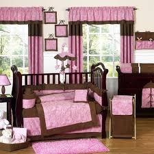 Modern Crib Bedding For Girls by Bedroom Modern Nursery Furniture Sets With Pink Bedding Sets For