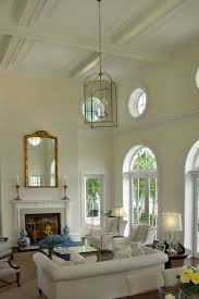 Lighting For Living Room With High Ceiling How To Decorate A Room With High Ceilings Designed