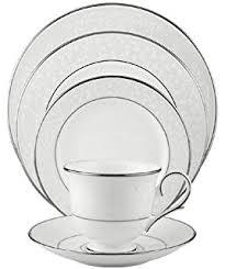 amazon com lenox federal platinum bone china 5 piece place