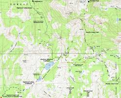 Bear Creek Trail Map Map Highland Lakes To Wolf Creek Pass Backpacking Tyt To Pct