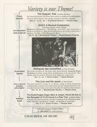 ann arbor civic theatre program the nerd september 15 1993