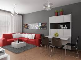 Living Room With Red Sofa by Home Design Living Room Fascinating Colour Schemes With Modern