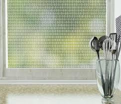 use stickpretty bits u0026 bytes privacy window film u2014a modern kitchen