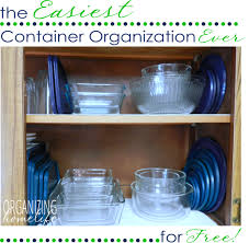 best way to organize dishes in kitchen cabinets the easiest way to organize food storage containers