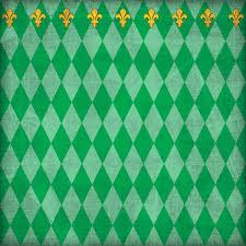 green mardi gras scrapbook customs united states collection louisiana 12 x 12