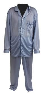 lot detail elvis worn ep monogrammed pajamas