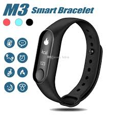 heart health bracelet images Newest m3 smart bracelet heart rate monitor fitness tracker smart jpg