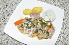 cuisiner une tete de veau tête de veau sauce gribiche les recettes de cuisine