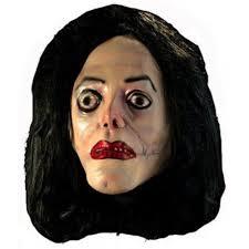 Halloween Costumes Michael Jackson Halloween Wacko Jacko Mask Zombie Michael Jackson Costume