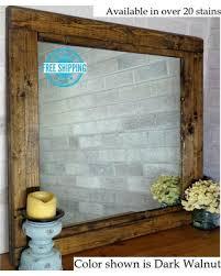 reclaimed wood bathroom mirror peaceful design ideas reclaimed wood bathroom mirror home decorating
