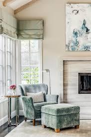 velvet chair and ottoman blue herringbone velvet chair and ottoman transitional bedroom