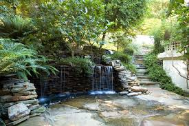 Nice Backyard Ideas by Beautiful And Relaxing Garden Waterfalls Ideas With Nice Backyard