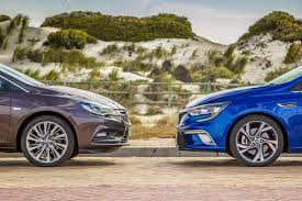 opel ford comparative review opel astra 1 6t sport vs renault megane gt