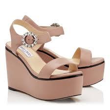 designer wedges premium cork wedge shoes u0026 sandals jimmy choo