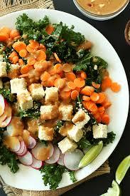 Dinner Ideas Pictures Thai Kale Salad Minimalist Baker Recipes