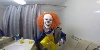funny halloween pranks clown in bathroom prank terrifies brother huffpost uk
