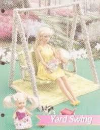 make fashion doll furniture using plastic canvas plastic canvas