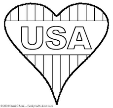 usa coloring pages 1358 i love usa coloring page with captain
