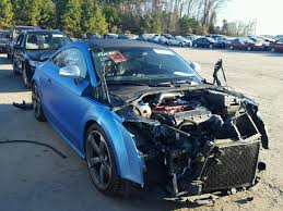 damaged audi for sale 2012 audi tt rs pres for sale nc raleigh salvage cars