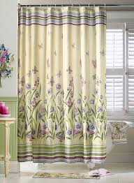 amazon com butterfly garden pastel shower curtain by collections