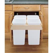 pull out trash can for 12 inch cabinet decoration kitchen trash can slide out replacement pull out trash