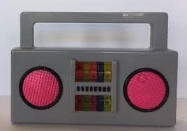 yo gabba gabba boombox stereo lights sound dj scratch pad ebay