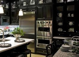 black kitchens designs 55 best black kitchens images on pinterest black kitchens