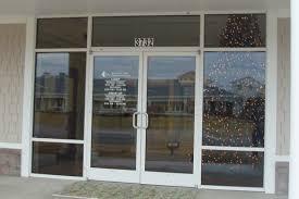 glass outside doors business glass front door and commercial metal exterior doors