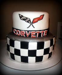 corvette birthday attractive ideas corvette birthday cake and fanciful corvette