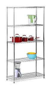Chrome Bookshelves by Amazon Com Honey Can Do Shf 01443 Adjustable Industrial Storage