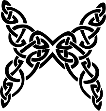 butterfly celtic knot decorative free vector graphic on pixabay