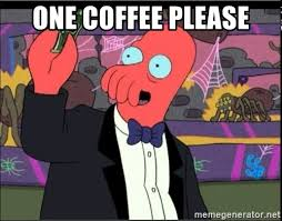 Zoidberg Meme Generator - one coffee please zoidberg one art please meme generator