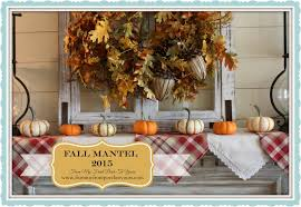 from my front porch to yours fall mantel 2015 farmhouse style