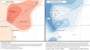 Snowfall Totals Map Snowfall Totals April 15 18 2016 Winter Storm Denver Colorado