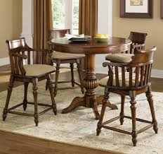 Furniture Home Liberty Furniture Crystal Lakes Piece Inch Round - Counter height dining table swivel chairs