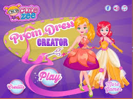 prom dress creator dressing games for girls and kids