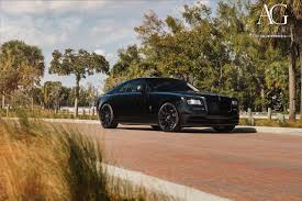 roll royce brown ag luxury wheels rolls royce wraith