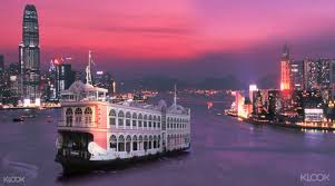 hong kong light show cruise bauhinia harbor cruises klook