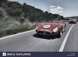 maserati 300s maserati 300s sports racing car from the 1950 u0027s driving in the