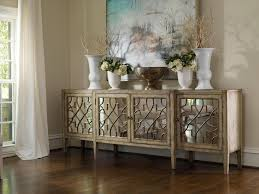 furniture stylish decorating mirrored buffet table with white