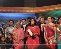 mukesh ambani nita ambani aamir khan and sachin tendulkar at cn