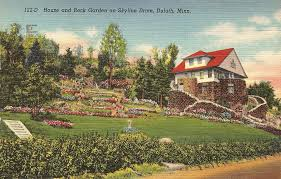 Rock Garden Mn House And Rock Garden On Skyline Drive Duluth Day