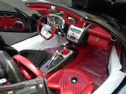 Pagani Zonda Interior Pagani Zonda F For Sale Black With Red Interior Cars