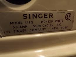singer 411g industrial strength heavy duty sewing machine leathers