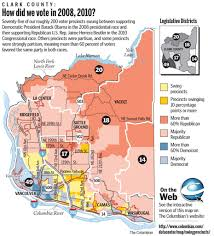 Vancouver Washington Map by Clark County Has Its Share Of Swing Voters The Columbian